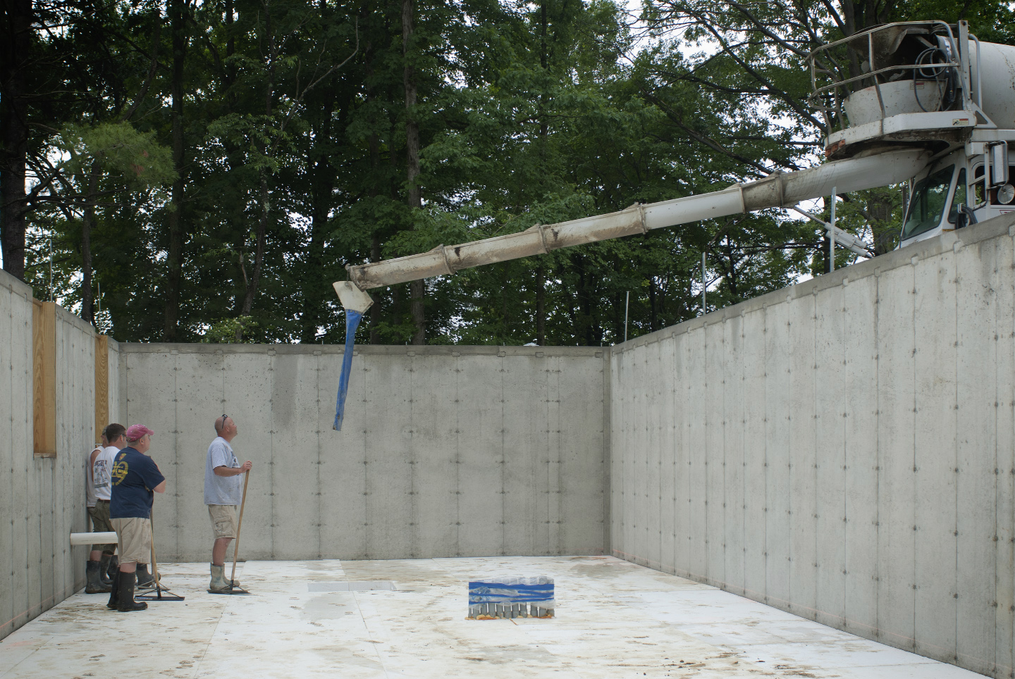 Rigid foam insulation under slab foam insulation for Insulated concrete foam