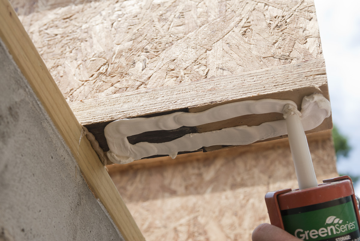 Rigid foam new hudson valley the two by four lumber under the soffit is an attachment point for the neopor blocks of rigid foam insulation the blocks will be notched out to fit solutioingenieria Image collections