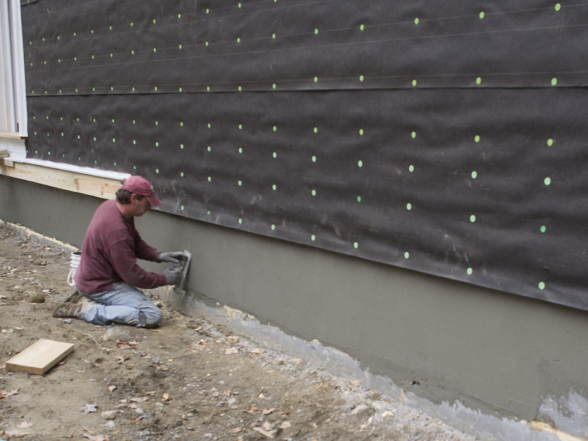 2 exterior shell new hudson valley page 2 - Exterior foundation insulation panels ...